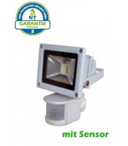 proyector led con sensor 30w 150w 120 1950lm 3000k ip65 premium