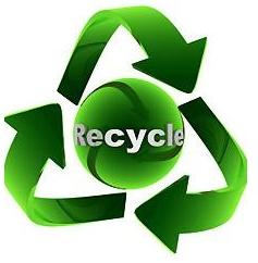 Reciclaje tubos UVA